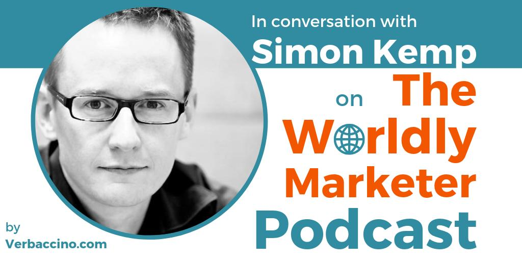 This week on The @WorldlyMarketer Podcast, I catch up w/ #GlobalMarketing expert @eskimon, Head of @kepios & @DataReportal. We discuss the headlines from his Digital 2019 Q3 report, incl. the massive popularity of #esports in #APAC: ow.ly/qdgt50vrmz9 Fascinating! #TWM153