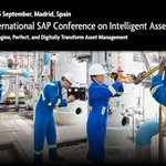 Image for the Tweet beginning: International SAP Conference on Intelligent