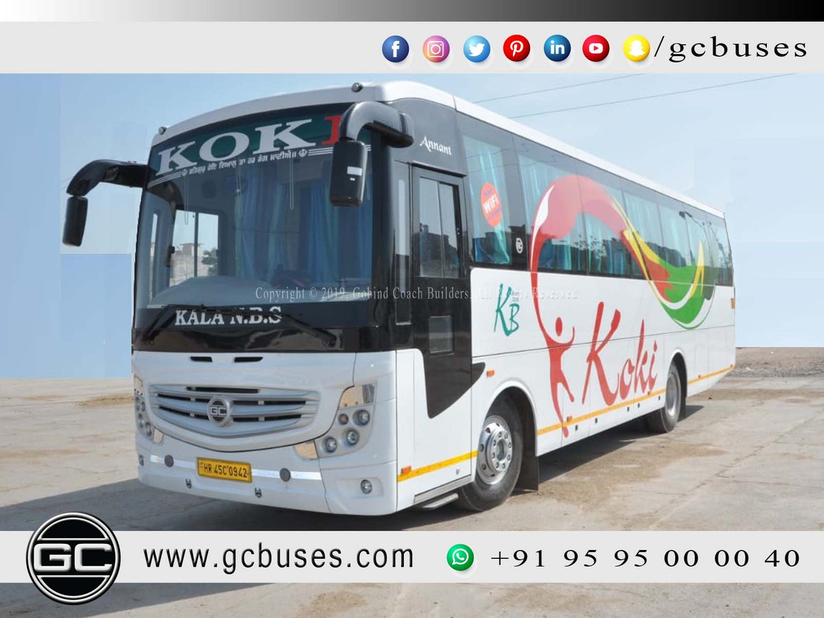 Gobind Coach On Twitter Gcbuses Gobind Coach Builders Bestbusbodybuilder Trendsetter Luxurybuses Topbodybuilder For More Information Call Us At 919595000040 Or Visit Us At Https T Co 7onj8kpzeu Https T Co Xqtvdcl2ab