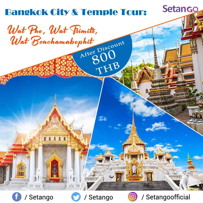 Bangkok is large city which known for it's vibrant street life, Experience the beauty of Bangkok through Bangkok City & Temples Tour...@amezingthailand   #amezingthailand #travelthailand #travelworld