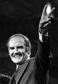 From military spending so wasteful that it weakens our nation; come home, America. — George McGovern, 1972