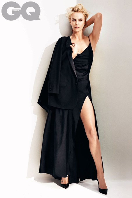 Because it s Charlize Theron s Birthday today, happy 44th year Birthday.