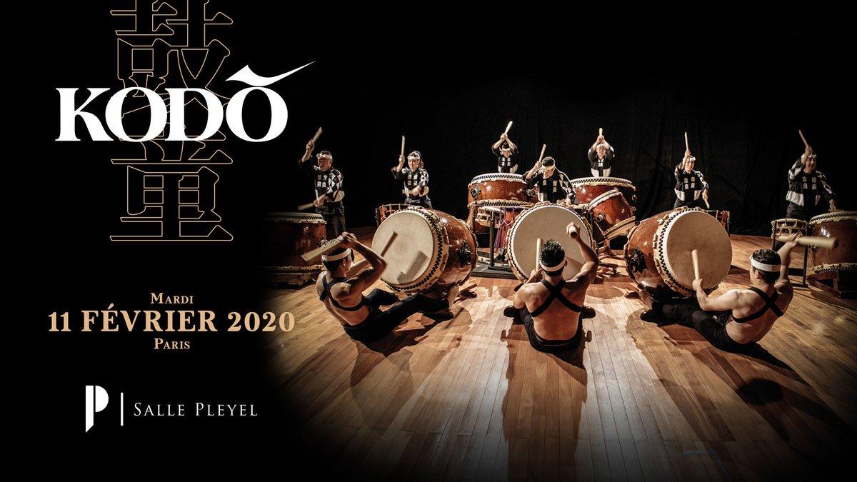 [ DÉPART DES VENTES ]  #KODŌ - 11/02/2020 - @sallepleyel  La troupe de Tamasaburo Bando, acteur de théâtre Kabuki, fera trembler la #sallepleyel  [ BILLETTERIE ] ici > https://t.co/1HwLJNjPxU  [ VI
