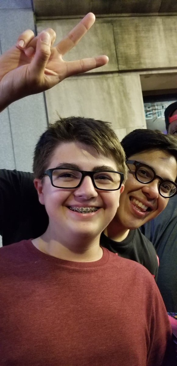 @georgesalazar That's exactly what you did for my son!! I've never seen him smile this big!