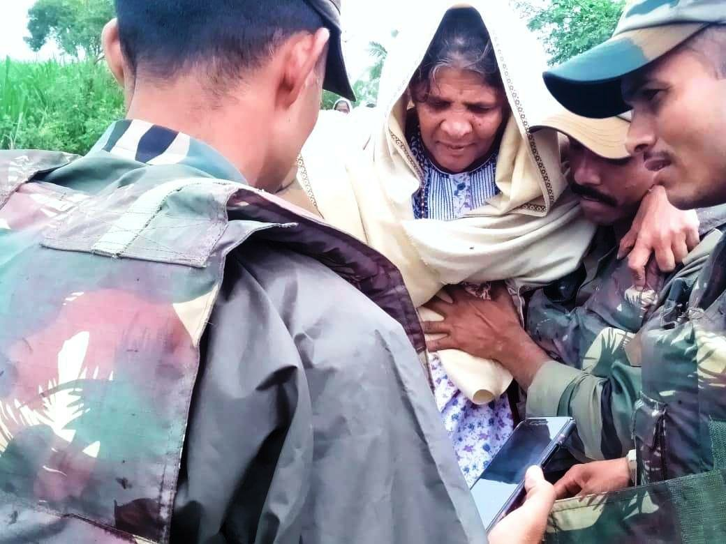 indian army rescues 45 day - HD 1040×780