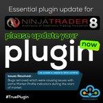 Image for the Tweet beginning: Essential plugin update for NINJA