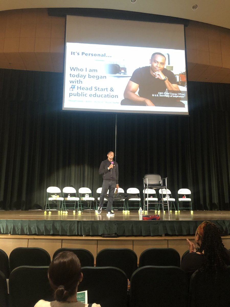 """Excellence > Perfectionism"""" Via @docspeaks """"I changed over time, not overnight."""" #HCPSEquity #hcpspln"""