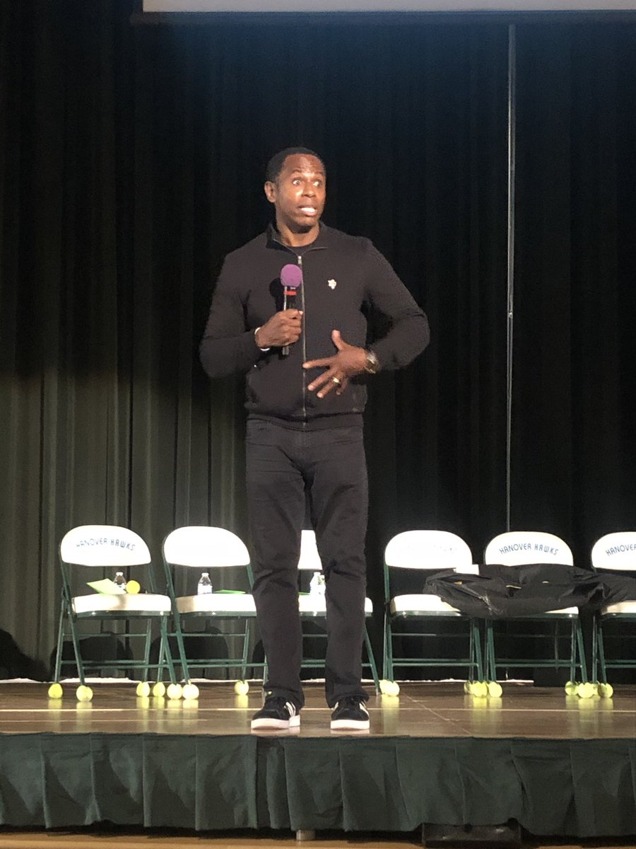 """""""The most important words a student can hear: """"I believe in you."""" Via @docspeaks #HCPSEquity #hcpspln"""