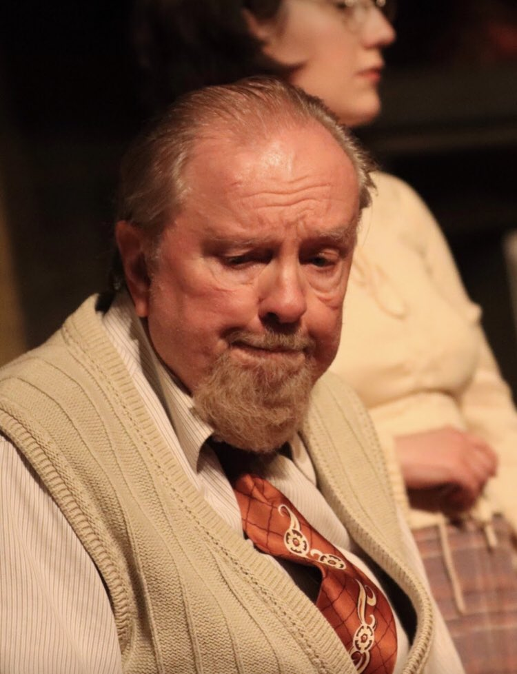so my retired dad is in a local production of The Diary of Anne Frank in down east Maine right now and I definitely stan  #cooldads <br>http://pic.twitter.com/7Lilo6FfH7