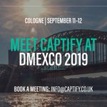 The countdown is on for #DMEXCO19! Get in touch to book a meeting with @Captify's Global Team at info@captify.co.uk #Captify #Adtech @DMEXCO