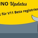 Image for the Tweet beginning: Jetzt für Domino V11 Beta