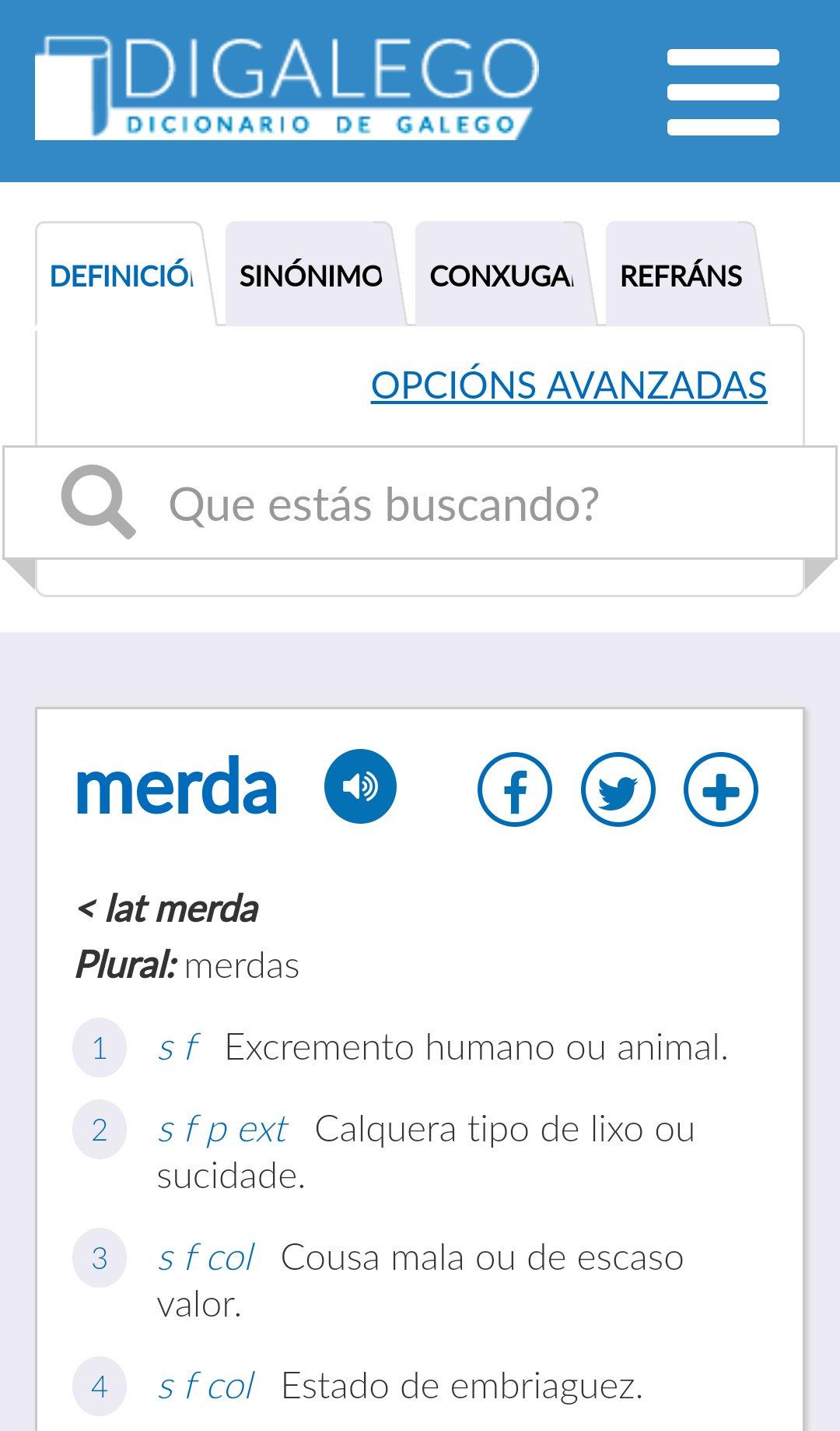 Em Galego On Twitter O Dicionário Da At Xunta Digalego