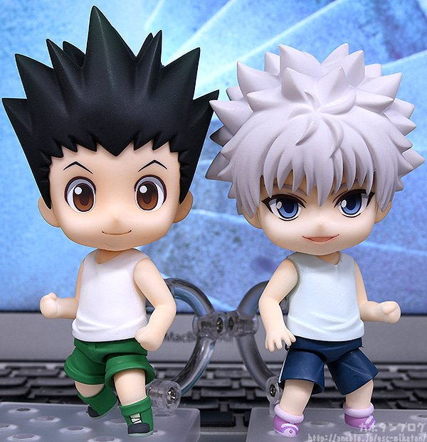 FREEing Nendoroid Hunter x Hunter Killua Zoldyck