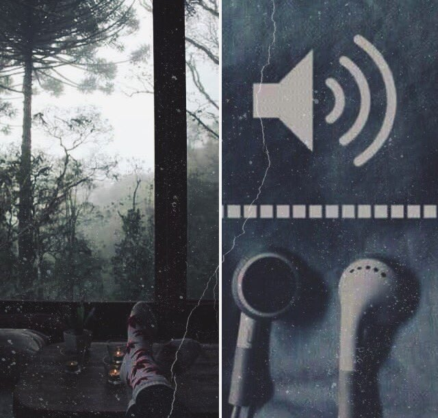 Cold weather + Old songs.