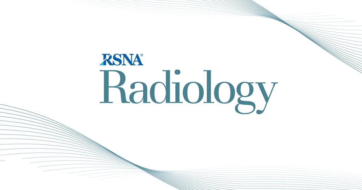 Radiology (@radiology_rsna) | Twitter
