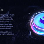Image for the Tweet beginning: #LightningNetwork will provide instant transactions