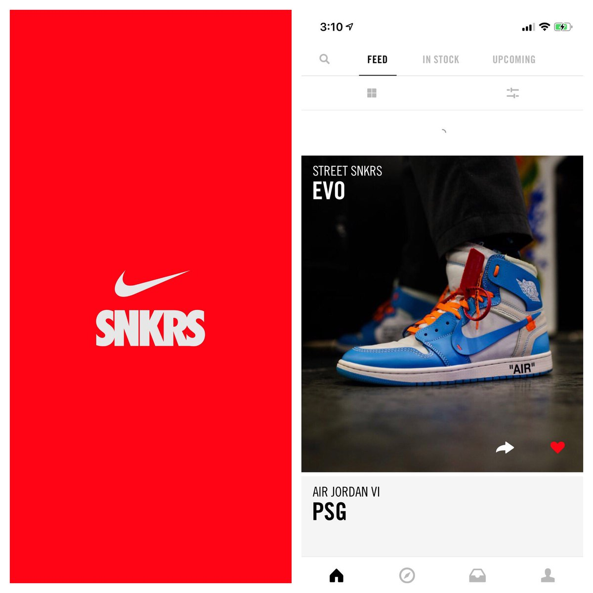 SNKRS app! Are you into fighting games