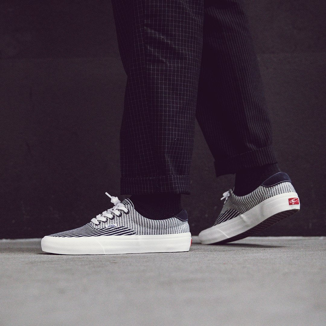 footpatrol london on twitter vans mt vernon mills blue white shop the collaboration between vans and mt vernon mills in store online sizes range from uk6 uk12 priced from vans mt vernon mills blue