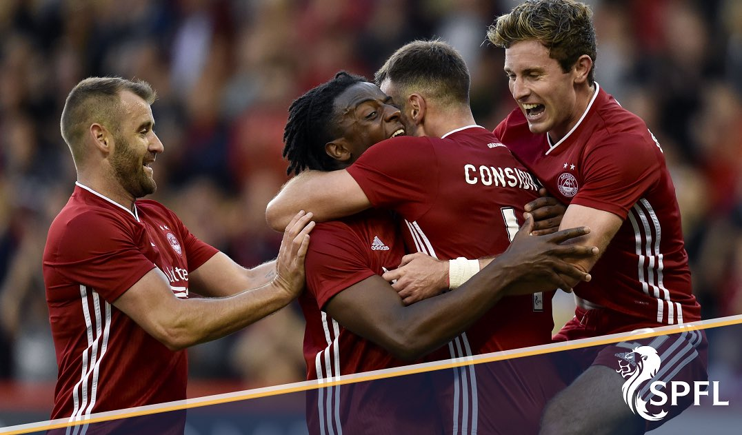 ⚽️🏆 | Good luck to @AberdeenFC, who play Croatian side Rijeka in the @EuropaLeague QR3, 1st leg, kick-off 7.00pm.  RT if you're backing the Dons!