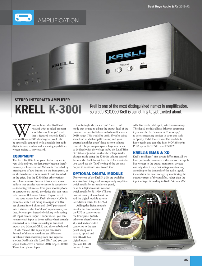 Best Buys Audio & AV Review of the K-300i conta.cc/31lcKVS