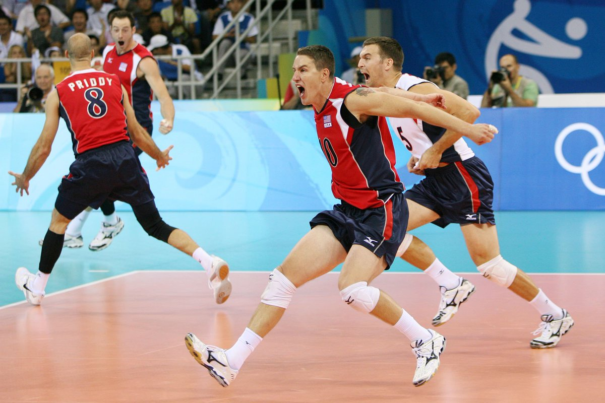 Did you know that 2008 Olympic gold medalist Riley Salmon is a coach now? jamestownsun.com/sports/volleyb…