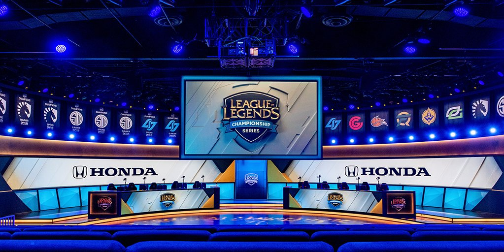 Honda is proud to partner with @RiotGames as the official automotive sponsor of @LCSOfficial. #LCS