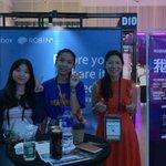 Image for the Tweet beginning: Robin8 at Slush Shenzhen today!