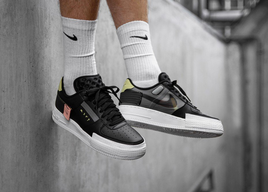 Nike Air Force 1 Low Type White CI0054 100 – Fastsole