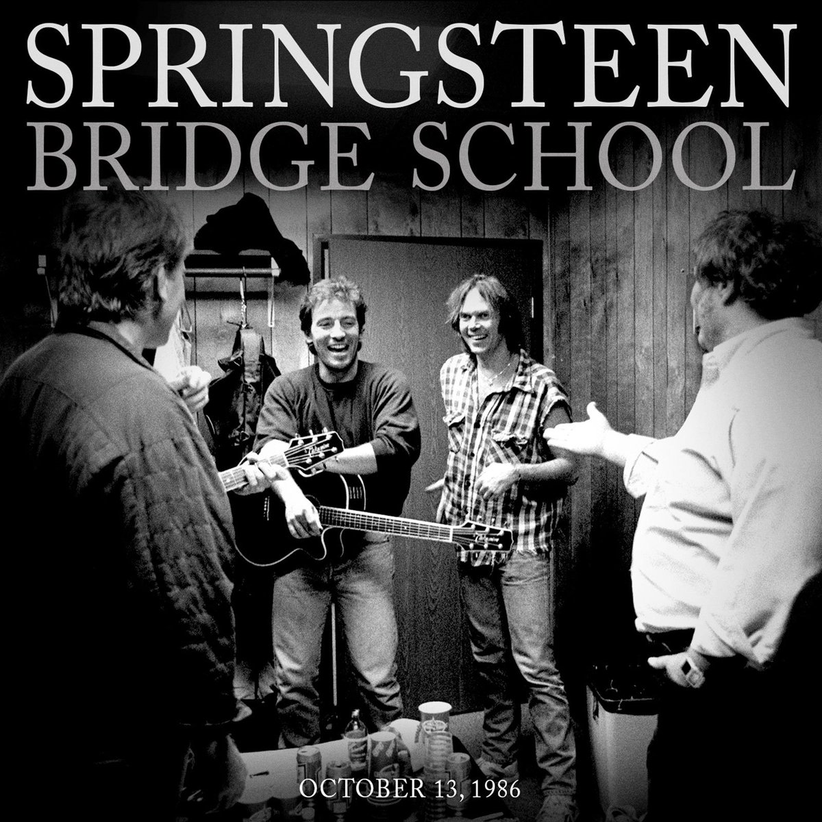 Bruce's performance at the inaugural Bridge School Benefit Concert marked his first major appearance since the end of the BIUSA tour and his first acoustic set in over a decade. $2 from each sale goes to The Bridge School. 2nu.gs/Bridge86