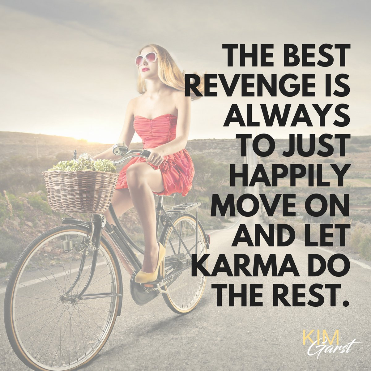 The best revenge is always to just happily move along and let Karma do the rest.