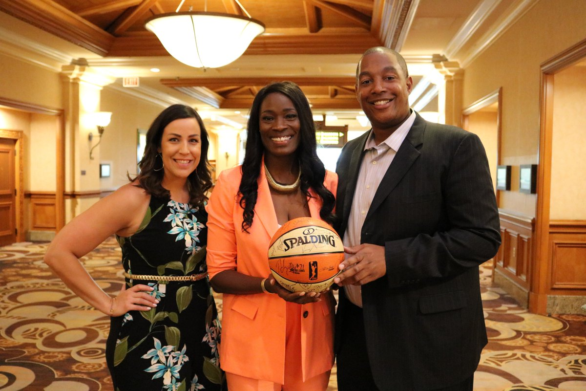 #TBT To the #LadyLegends Brunch and Panel at the 2019 @WNBA All-Star Weekend! A big thanks to @RushiaB, @WPBAA and all those who support our @WNBA family! #LegendsofBasketball
