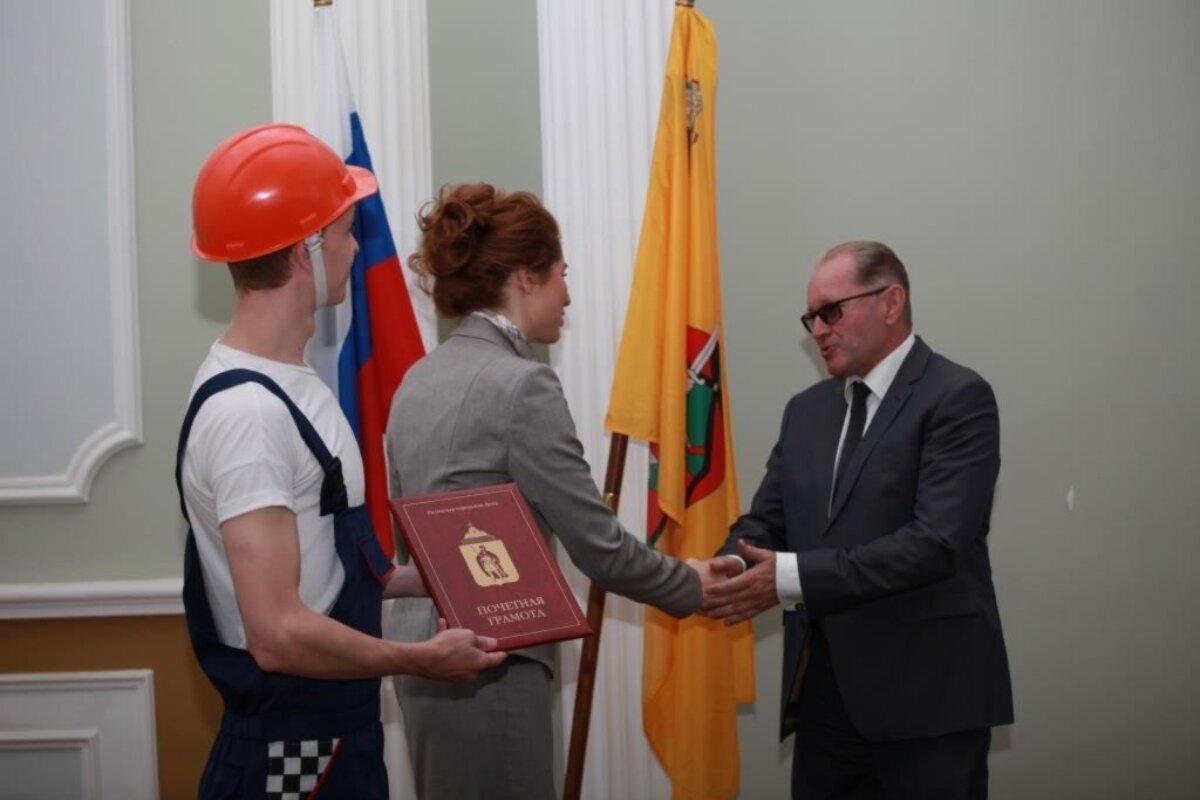 Поздравления строителей рязани в администрации