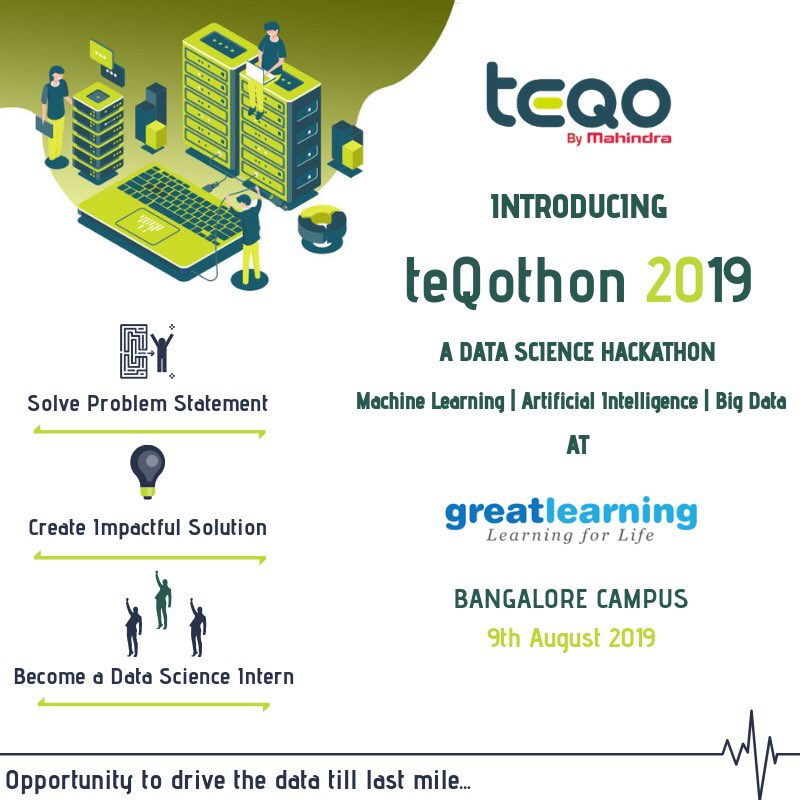 Science - Introducing Data Science Hackathon 'teQothon' at Great