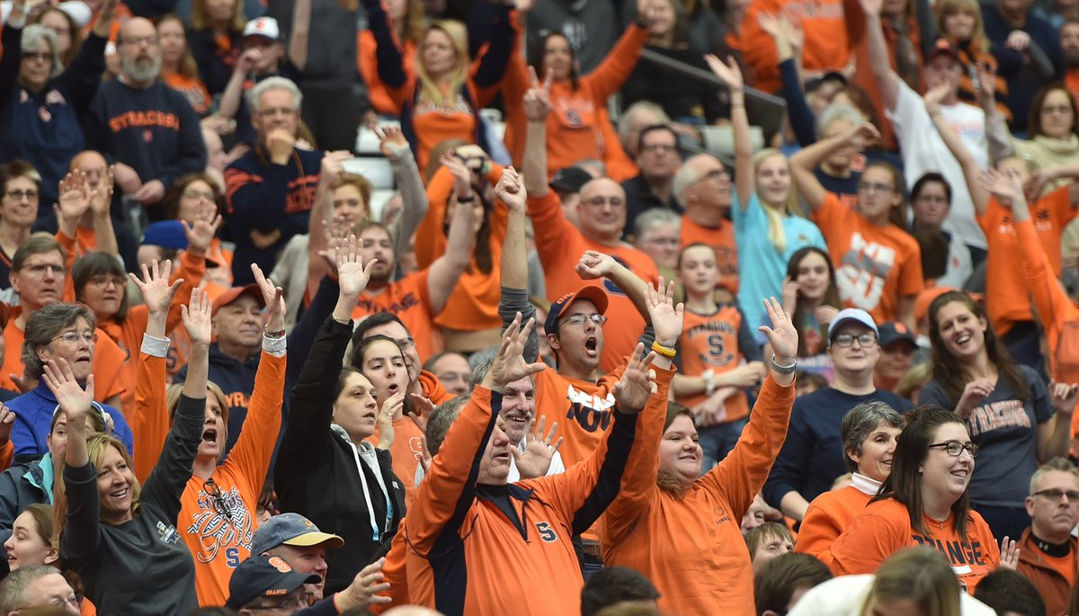 Syracuse Basketball On Twitter Syracuse Fans Take Our