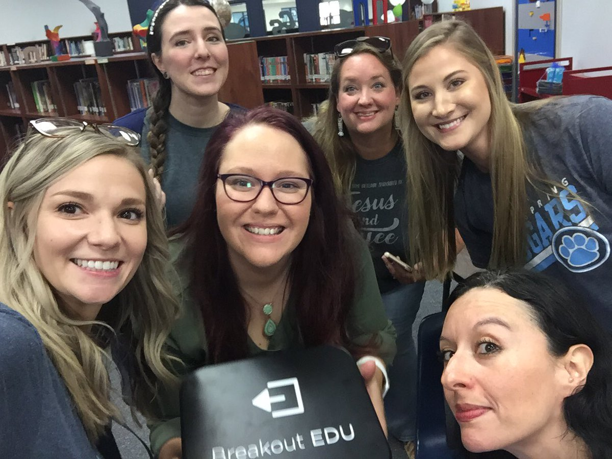 Breakout edu is awesome for review!! #Back2School #ourWHY