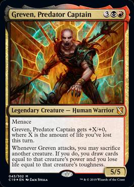 C19] The Loregoyfs Preview - Greven, Predator Captain - The Rumor