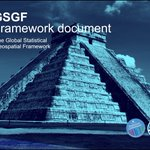 Image for the Tweet beginning: The Global Statistical Geospatial Framework,