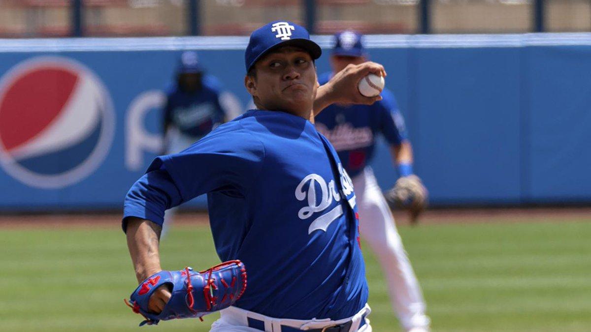 Víctor González busca alcanzar a Julio Urías en MLB con los Dodgers.