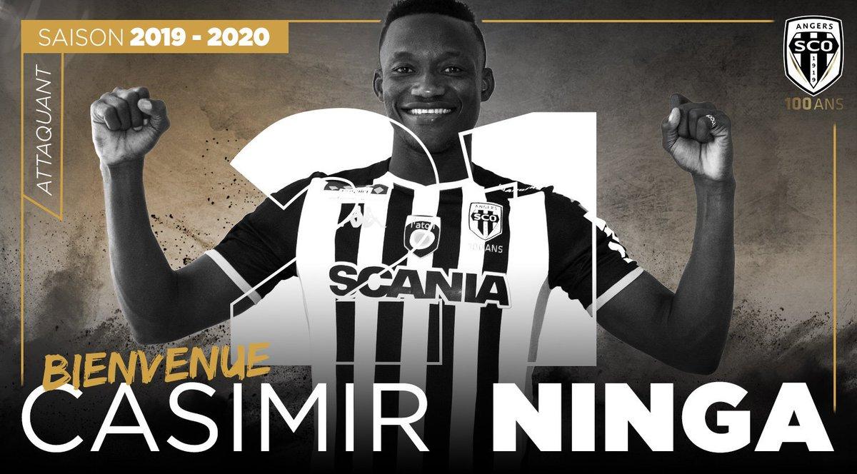 Casimir Ninga Angers SCO mercato