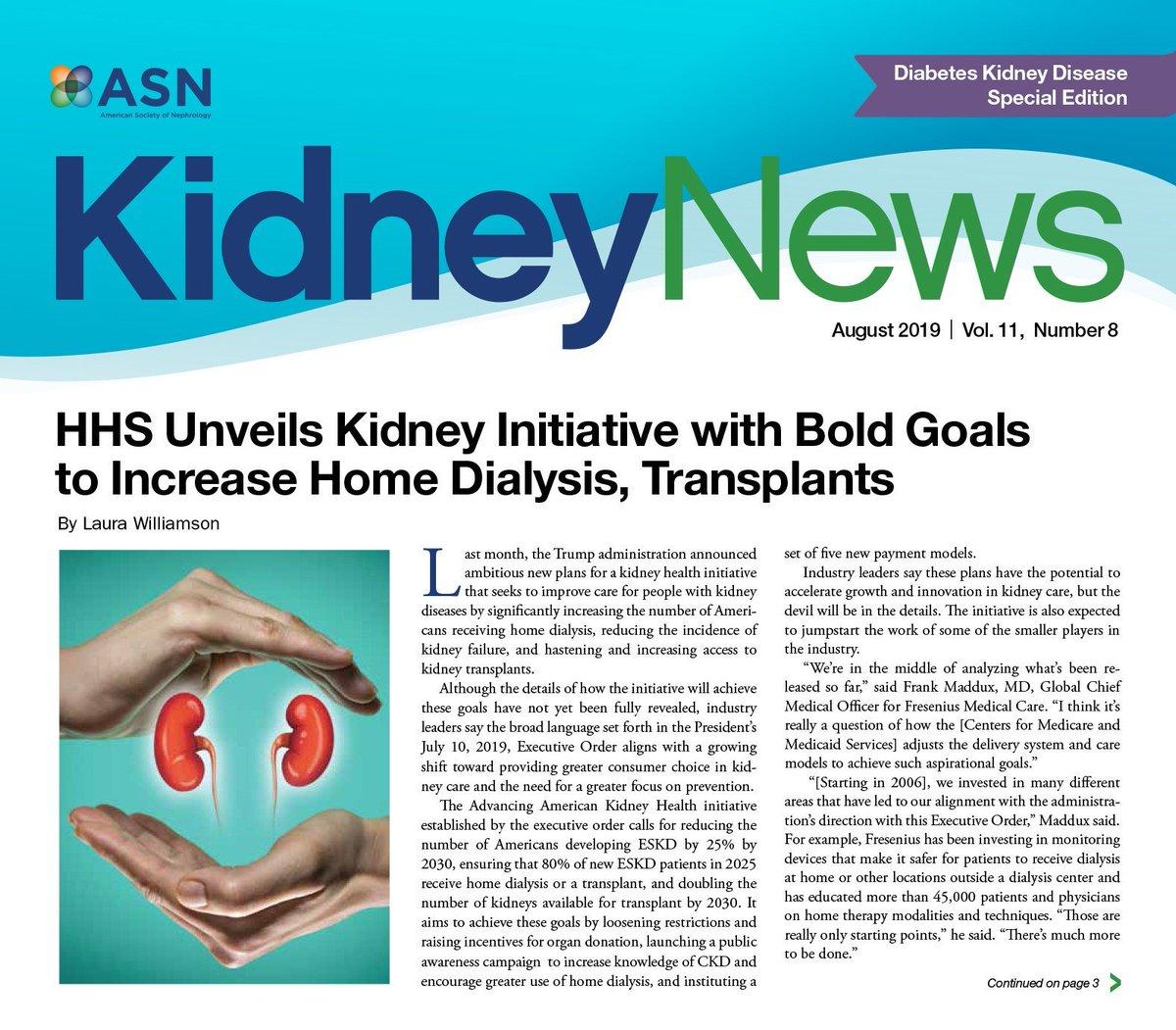 ASN Kidney News (@KidneyNews) | Twitter