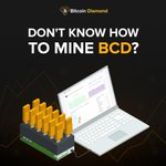 Image for the Tweet beginning: Interested in mining Bitcoin Diamond?