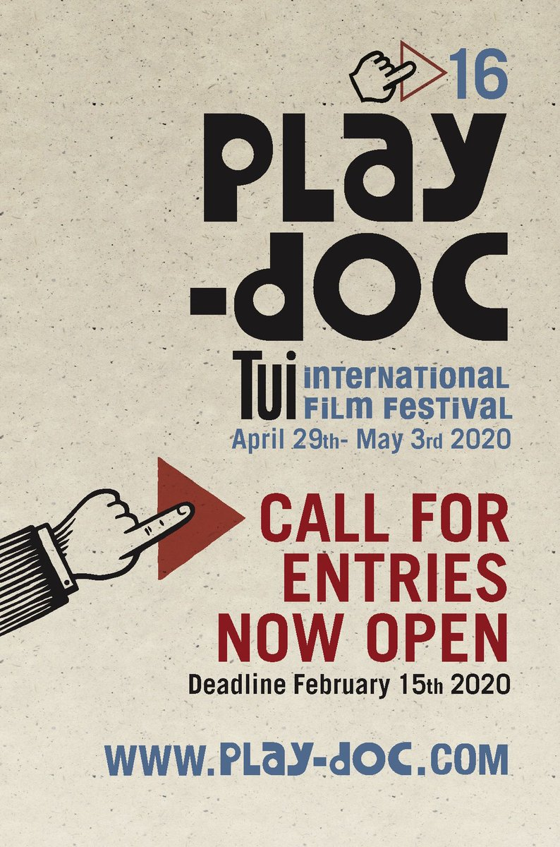 🔺CALL FOR ENTRIES PLAY-DOC 2020 OPEN🔻