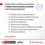 Image for the Tweet beginning: El Ceplan saluda a los
