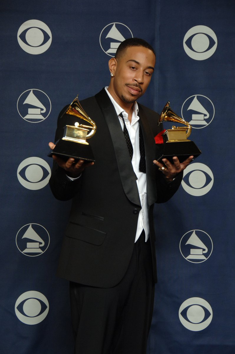 """It's not everyday you win 2 #GRAMMYs!  At the 49th GRAMMY Awards in 2007, @Ludacris took two awards, Best Rap Song + Best Rap Album. He topped off the night with an incredible performance of """"Runaway Love"""" ft. GRAMMY winners @maryjblige + @EarthWindFire. #GRAMMYVault <br>http://pic.twitter.com/0DWrkUAZu4"""