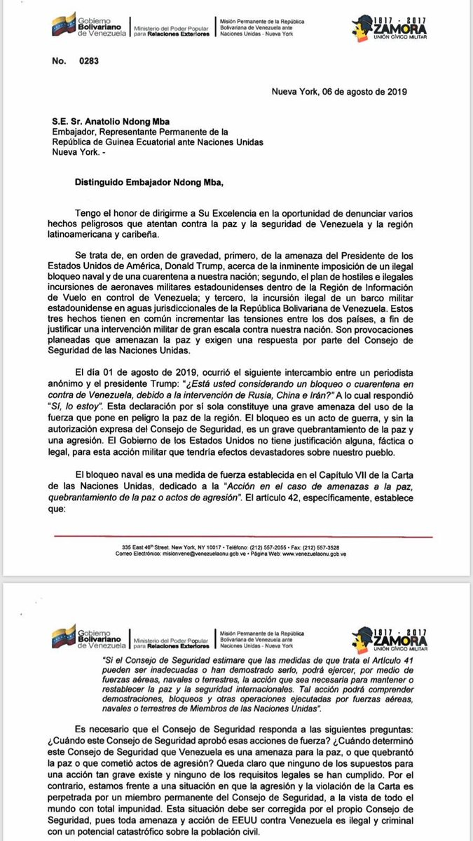 EU - Tirania de Nicolas Maduro - Página 5 EBe6LwpXsAAENPE