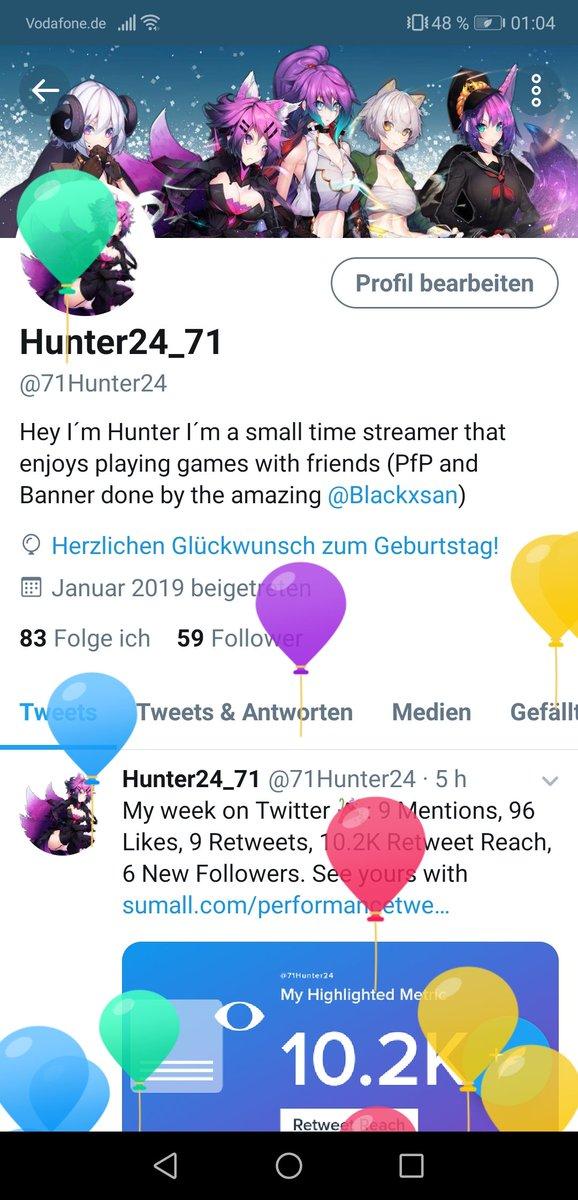 Hunter2471 At 71hunter24 Twitter