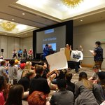 Image for the Tweet beginning: #TBT: We joined @firstlegoleague at