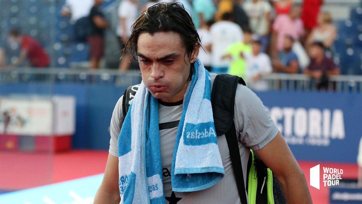 Retirada por lesión de Juani Mieres en los octavos del Mijas Open