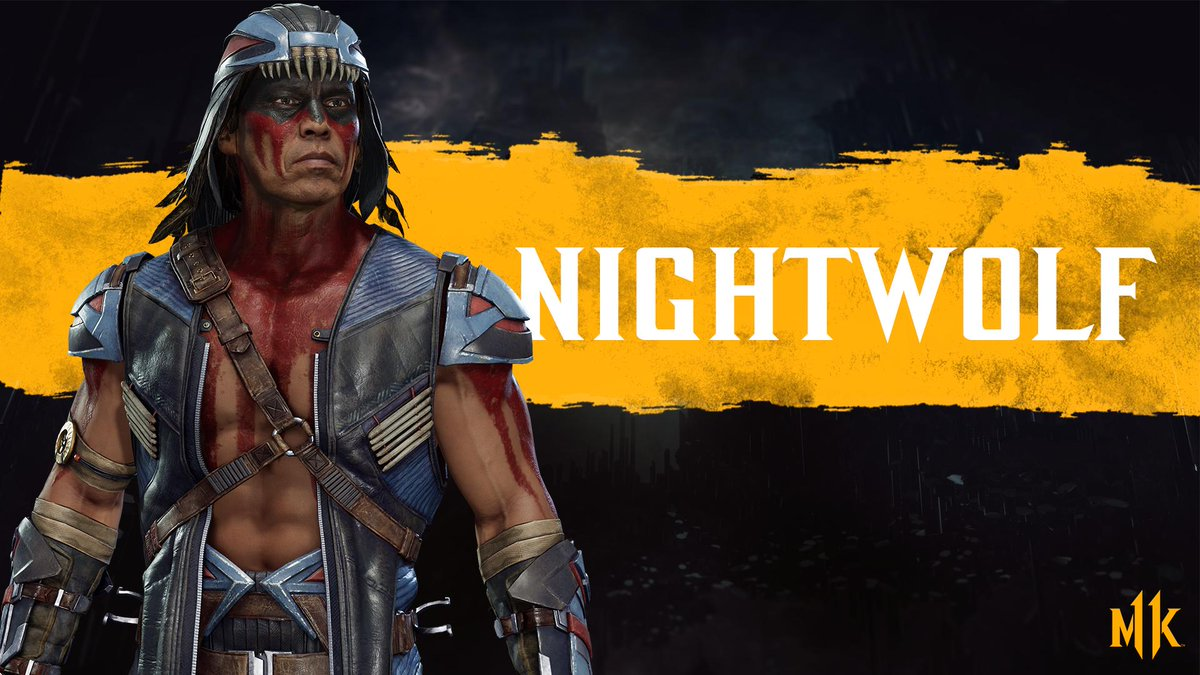 Invoke the power of the wolf! Play as Nightwolf in Early Access with the Kombat Pack, available now on #NintendoSwitch. #MK11    https:// bit.ly/2GgPIIm     <br>http://pic.twitter.com/vQD2PyILr8