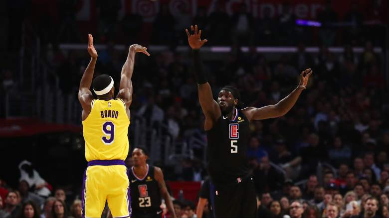 Lakers vs Clippers Opening Night Betting Lines & Odds Announced  https://t.co/Tqy0ACdFJj   Getty  Rajon Rondo of the Los Angeles Lakers sh... https://t.co/nIhk4tLrqc